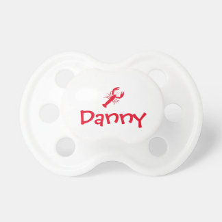 """Personalized """"Lobster"""" Pacifier"""