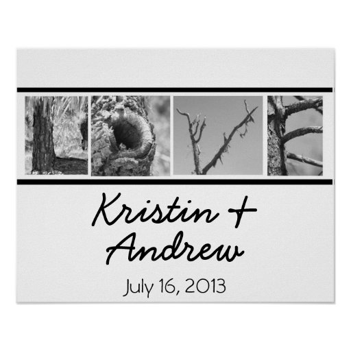 Personalized Love Poster Wedding Gift