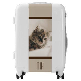 Personalized Lovely Sweet Cat Kitten Kitty Luggage