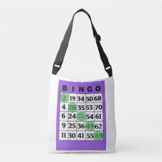 Personalized Lucky BINGO Bag with Purple Card