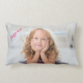 Personalized Lumbar Pillows Add Photo And Name