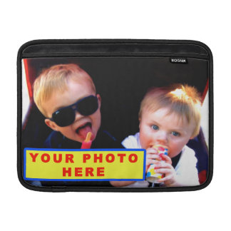 Personalized MacBook Air Case with YOUR PHOTO MacBook Sleeve