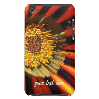Personalized macro flower iPod touch Case-Mate Cas Barely There iPod Cases