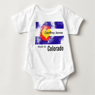 Personalized Made in Colorado TShirt