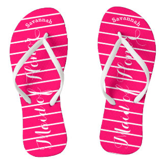 Personalized Maid of Honor Pink Thongs