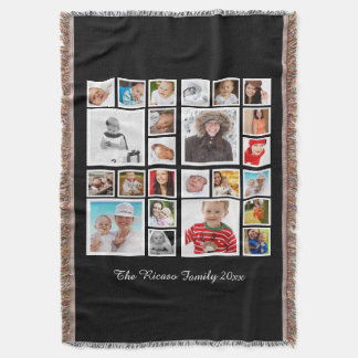 Personalized Make Your Own DIY Throw Blanket