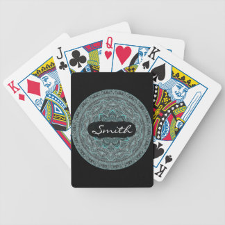 Personalized Mandala Poker Deck