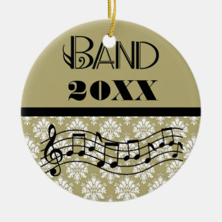Personalized Marching Band Music Ornament