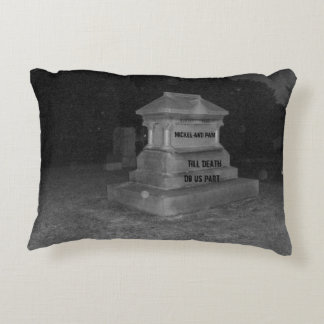 Personalized Marriage Cemetery Pillow Humor