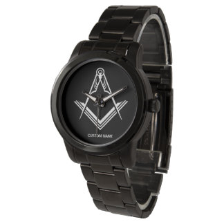 Personalized Masonic Watches | Freemason Gifts