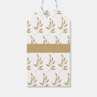 Personalized Matching Floral Gift Tag Set
