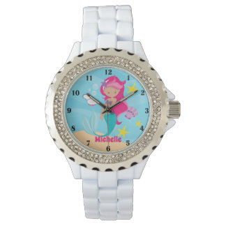 Personalized Mermaid Watch