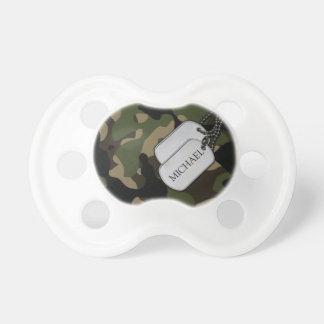Personalized Military Camo Dummy