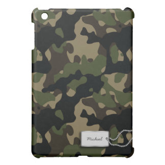 Personalized Military Camouflage iPad Mini Case