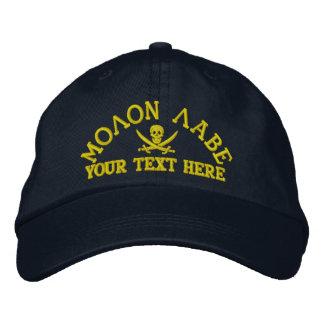 Personalized Molon Labe Embroidered Hats