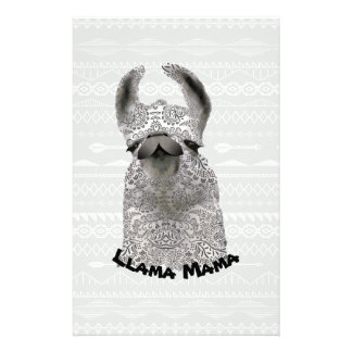Personalized Moma Llama Stationery