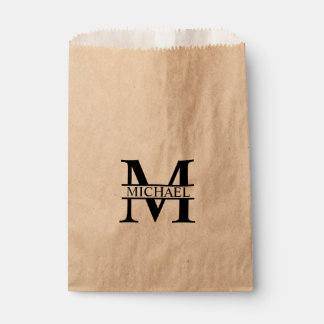 Personalized Monogram and Name Favour Bag