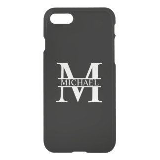 Personalized Monogram and Name iPhone 8/7 Case