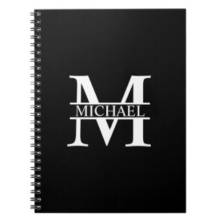 Personalized Monogram and Name Notebook