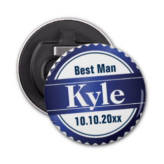 Personalized Monogram Bottle Opener