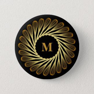 Personalized Monogram Kitchen Baking Lover 6 Cm Round Badge
