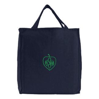 Personalized Monogram Leaf Bags