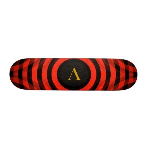Personalized Monogram Pattern - Skateboards