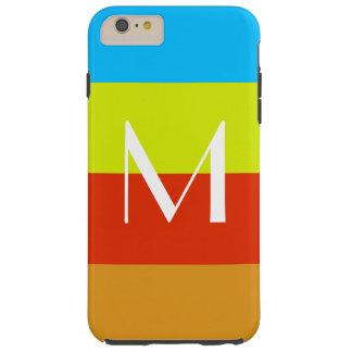 Personalized Monogram Summer Fun Tough iPhone 6 Plus Case