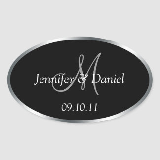 Personalized Monogram Wine Labels To Customize