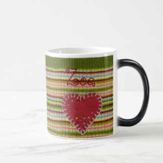 Personalized Morphing Mug with Knitted Pattern