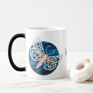 Personalized Morphing Mug with Night Moths