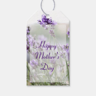Personalized Mothers Day Gift Tags Lavender