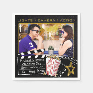 Personalized Movie Star Frame Disposable Napkin
