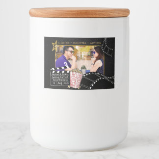 Personalized Movie Star Frame Food Label