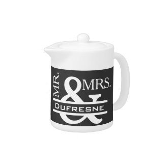 Personalized Mr & Mrs Gray