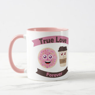 Personalized mug of Café and Donuts