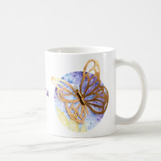 Personalized Mug with Butterflies