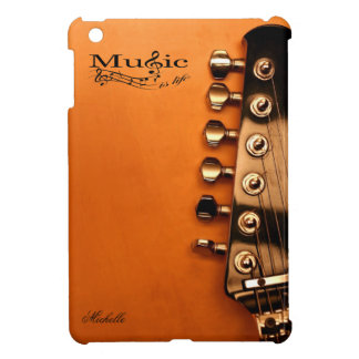 Personalized Music is Life with guitar head iPad Mini Cover