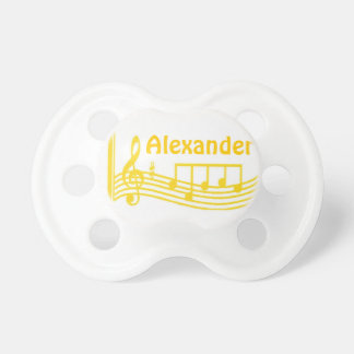 Personalized Musical Instruments Baby Binky Dummy