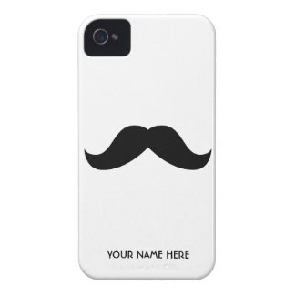 Personalized Mustache Case-Mate iPhone 4 Cases