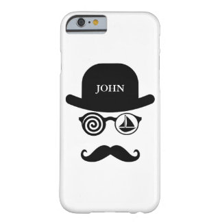 Personalized Mustache Londoner Sailing Case
