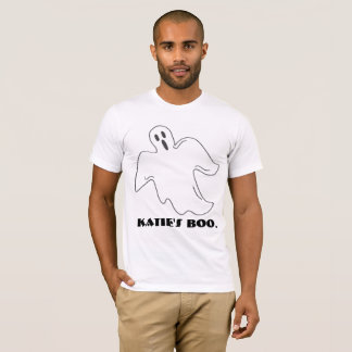 Personalized My Boo Girlfriend Name Ghost Tee