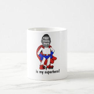 "Personalized ""My Dad is My Superhero!"" Mug"