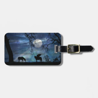 Personalized Mystic Luggage Tags Unicorn