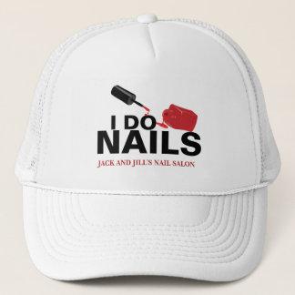 Personalized Nail Technician Trucker Hat