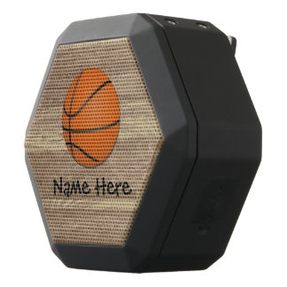 Personalized Name Basketball Orange/Brown