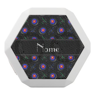 Personalized name black archery white boombot rex bluetooth speaker