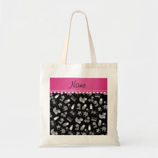 Personalized name black baby animals