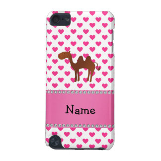 Personalized name camel pink hearts polka dots iPod touch (5th generation) case