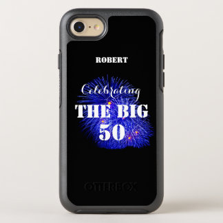 Personalized Name Celebrating THE BIG 50 - OtterBox Symmetry iPhone 7 Case